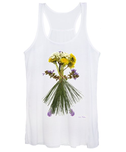 Flower Head Women's Tank Top