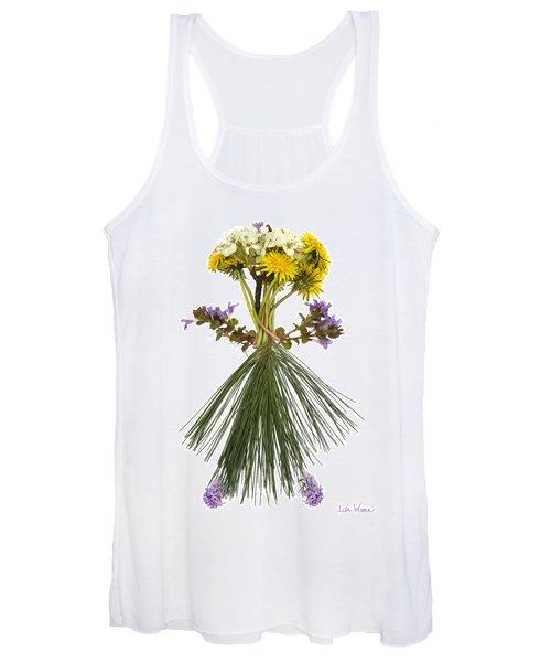 Flower Head Women's Tank Top