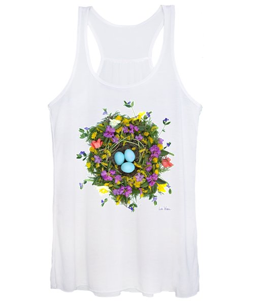 Flower Nest Women's Tank Top