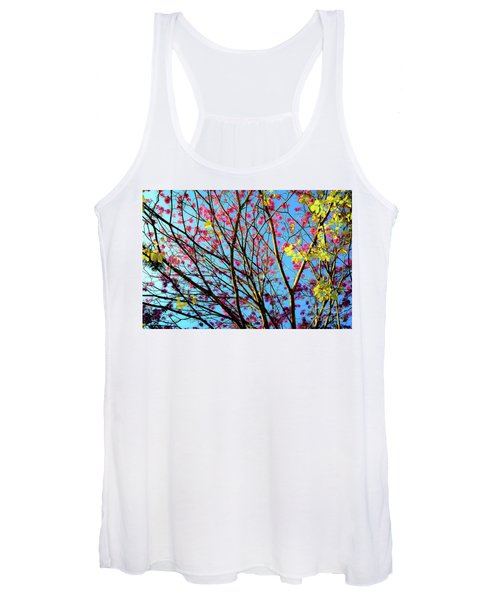 Flowers And Trees Women's Tank Top