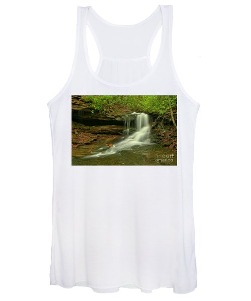 Flowing To The Side Women's Tank Top