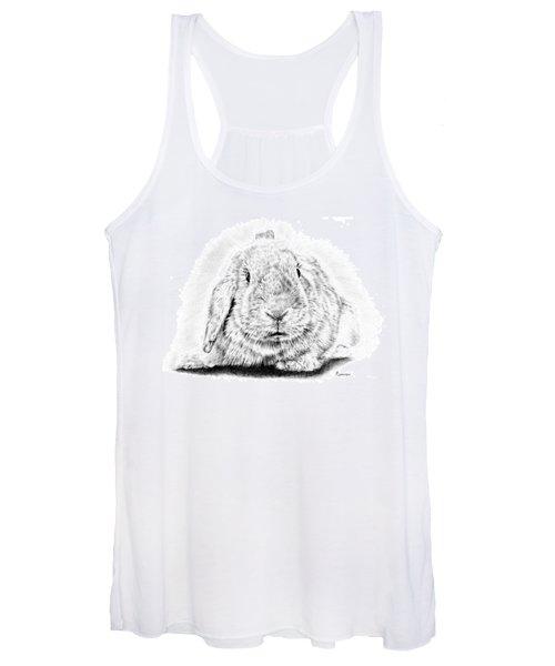 Fluffy Bunny Women's Tank Top