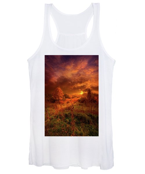 For A Time I Rest In The Grace Of The World And Am Free Women's Tank Top