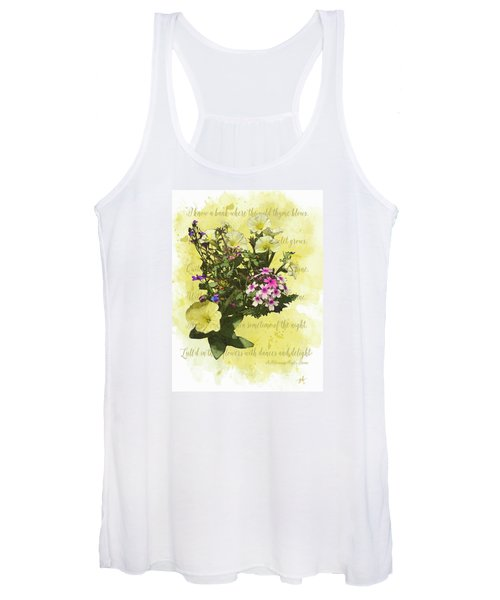 Women's Tank Top featuring the digital art For Titania by Gina Harrison