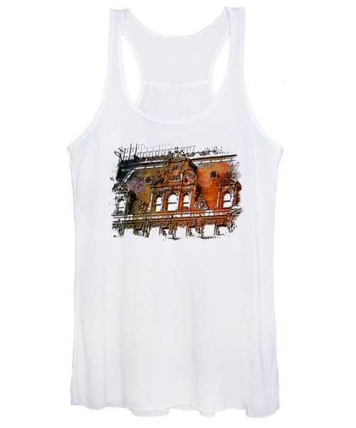 Forefathers Earthy Rainbow 3 Dimensional Women's Tank Top