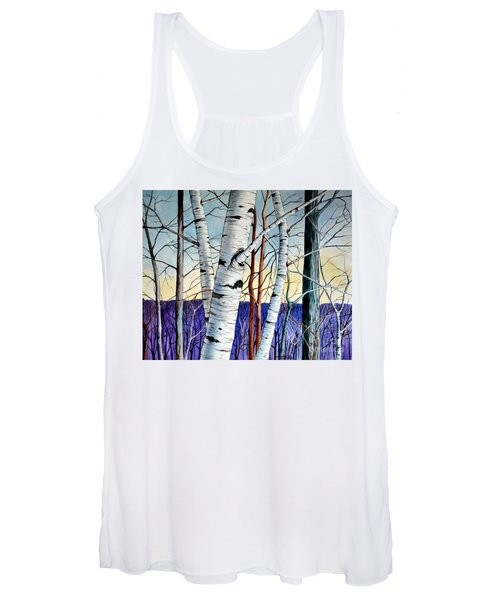 Forest Of Trees Women's Tank Top
