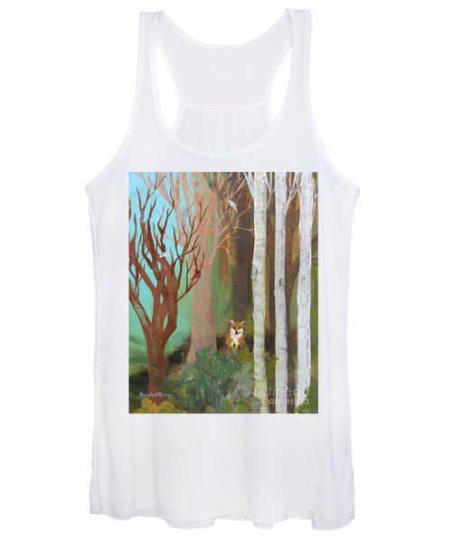 Fox In The Forest  Women's Tank Top