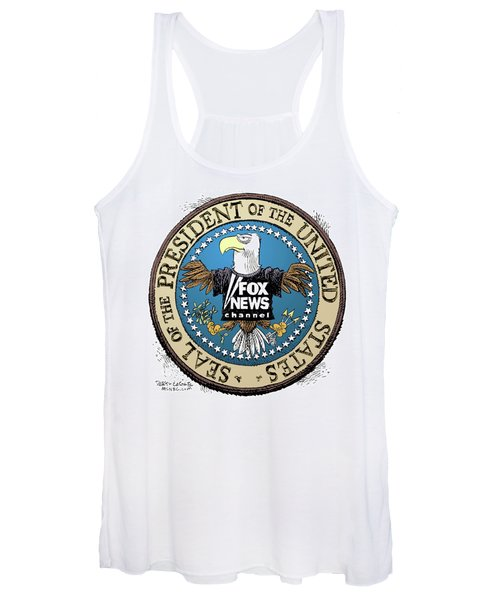 Fox News Presidential Seal Women's Tank Top