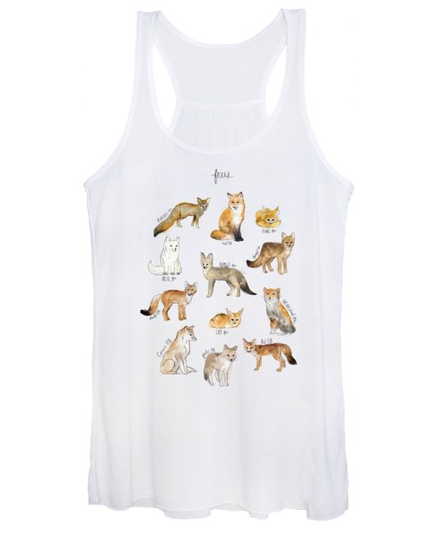Foxes Women's Tank Top