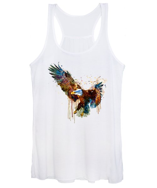 Free And Deadly Eagle Women's Tank Top
