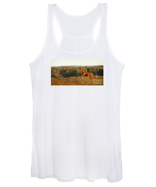 Freedom In The Late Afternoon Women's Tank Top