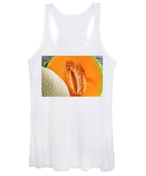 Fresh Cantaloupe Melon Women's Tank Top