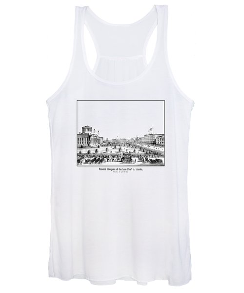 Funeral Obsequies Of President Lincoln Women's Tank Top