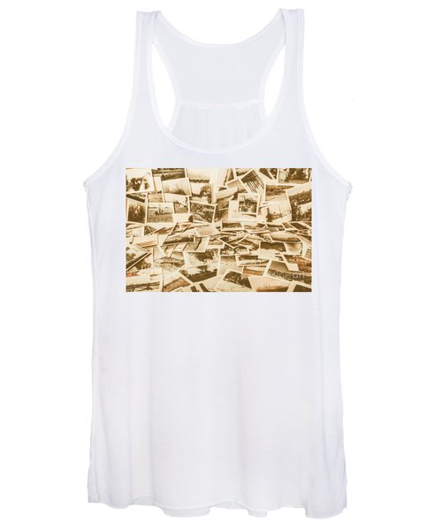 Gallery Of Old Landscape And Antique Places Women's Tank Top