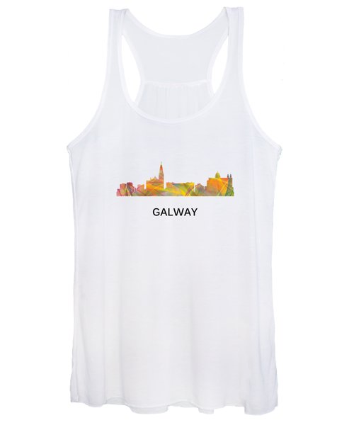 Galway Ireland Skyline Women's Tank Top