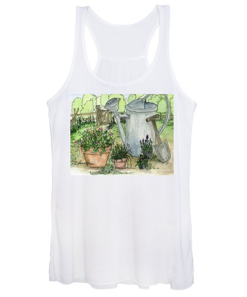 Garden Tools Women's Tank Top