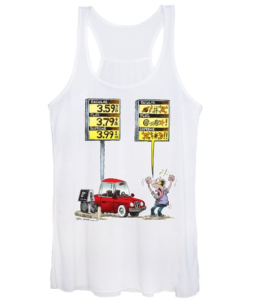 Gas Price Curse Women's Tank Top