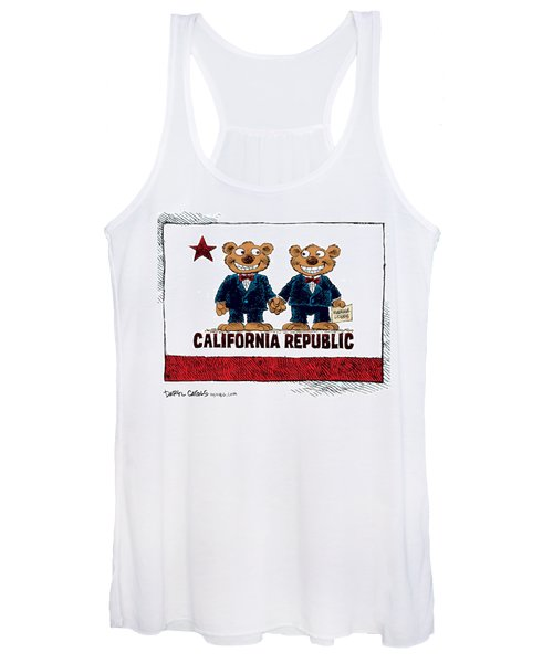 Gay Marriage In California Women's Tank Top