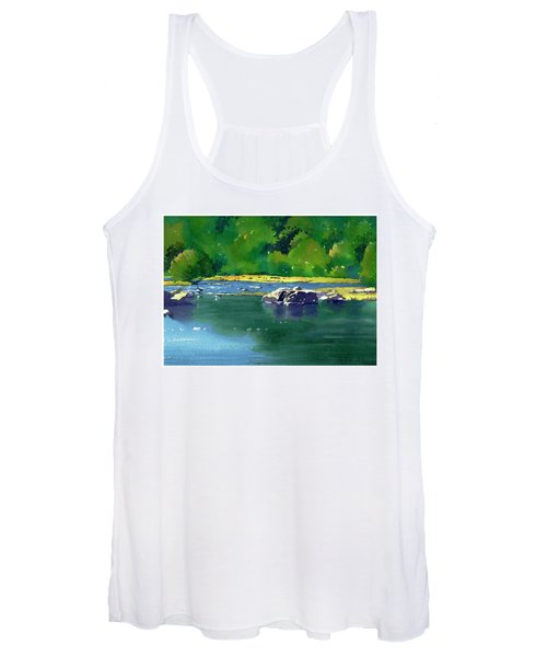 Geese On The Rappahannock Women's Tank Top