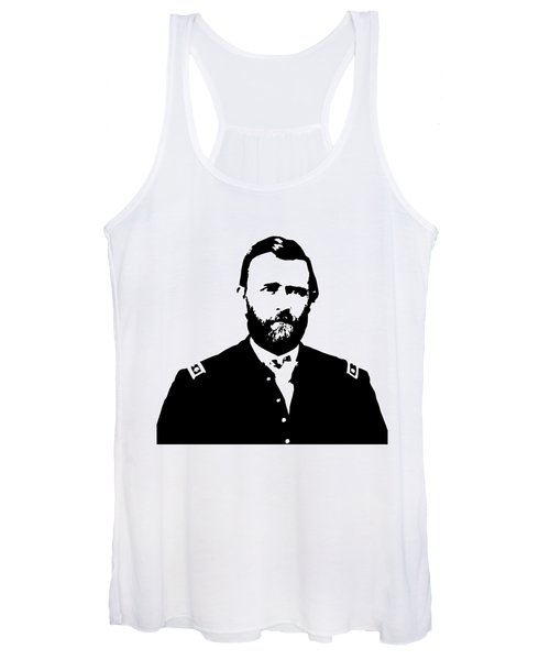 General Grant Black And White  Women's Tank Top