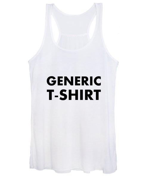 Generic Tee Women's Tank Top