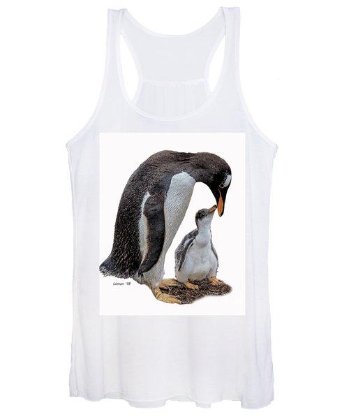 Gentoo Penguins Women's Tank Top