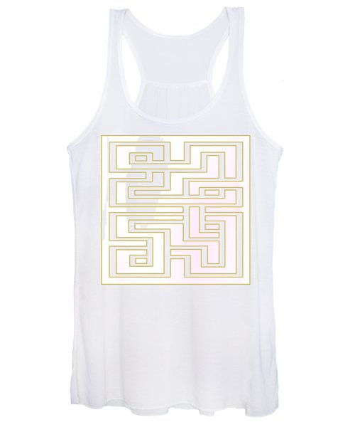 Geo 7 - Transparent Women's Tank Top