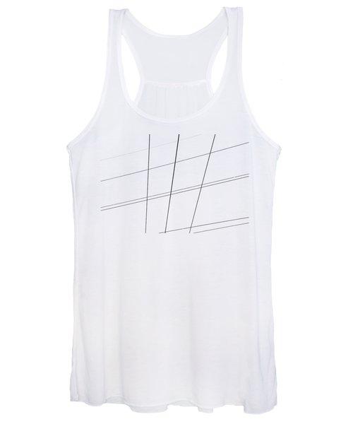 Geometric Lines Women's Tank Top
