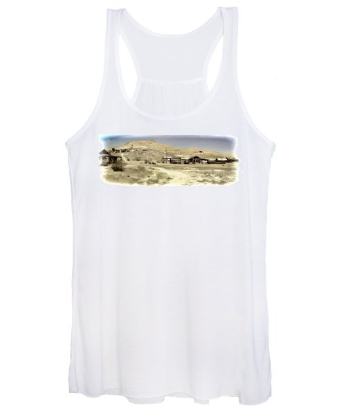 Ghost Town Textured Women's Tank Top