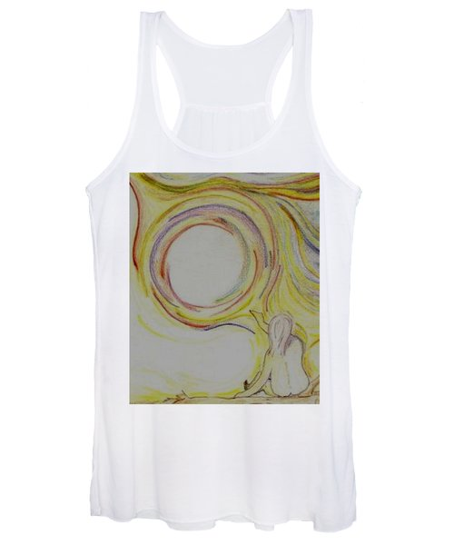 Girl And Universe Creative Connection Women's Tank Top