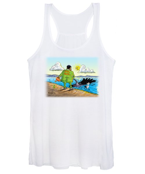 Giving Back To The Environment Women's Tank Top