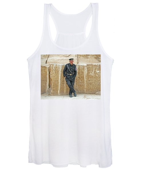 Giza Pyramids Tourist Police Women's Tank Top