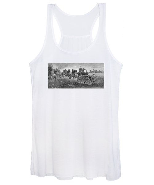Going Into Battle - Civil War Women's Tank Top