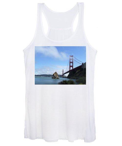 Golden Gate Bridge Women's Tank Top