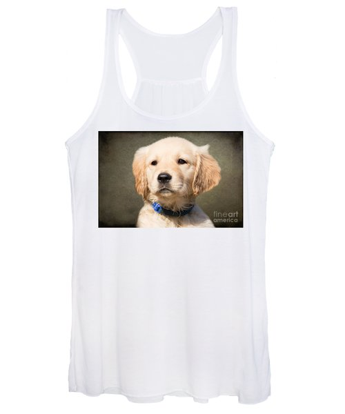 Golden Labrador Puppy Women's Tank Top