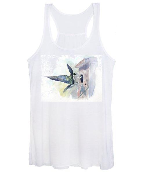 Golden Swallow Women's Tank Top