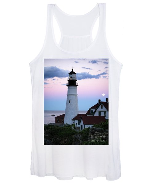 Goodnight Moon, Goodnight Lighthouse  -98588 Women's Tank Top