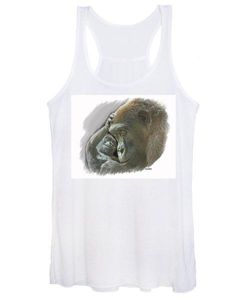 Gorilla Mother Women's Tank Top
