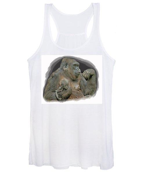 Gorilla Motherhood Women's Tank Top