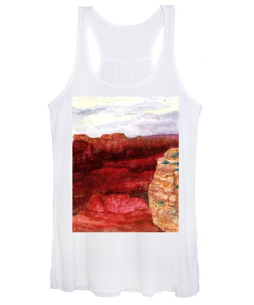 Grand Canyon S Rim Women's Tank Top
