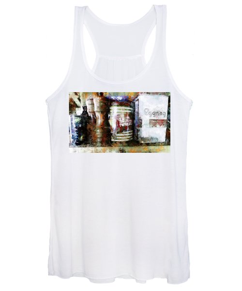 Grandma's Kitchen Tins Women's Tank Top