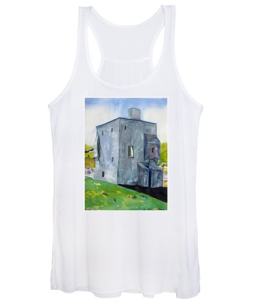 Granuaile's Castle Behind The Hill Women's Tank Top