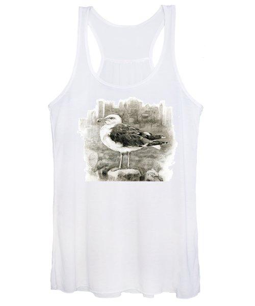 Great Black-backed Gull Women's Tank Top