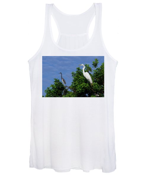 Great Egret  Women's Tank Top