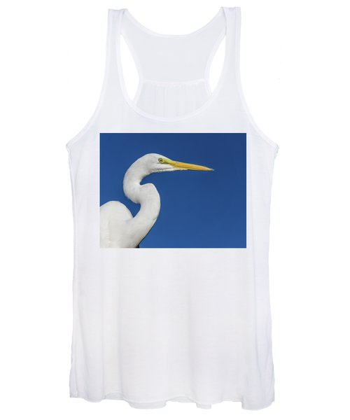 Great White Heron Women's Tank Top