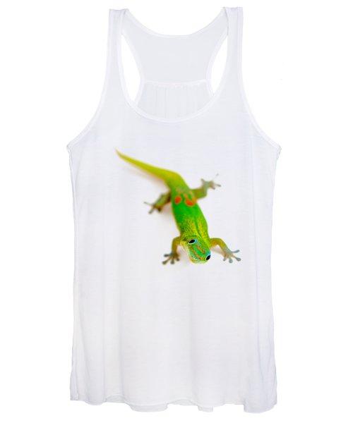 Green Gecko Women's Tank Top