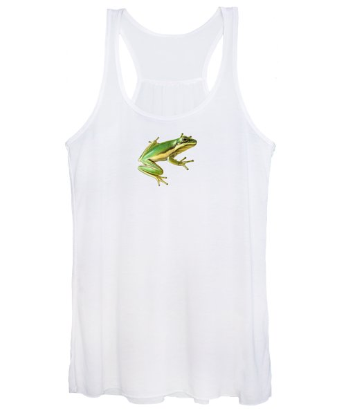 Green Tree Frog Women's Tank Top