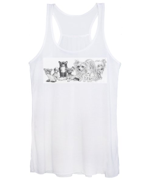 The Chinese Crested And Powderpuff Women's Tank Top