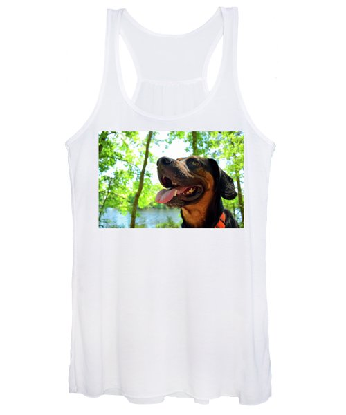 Gus On A Hike Women's Tank Top