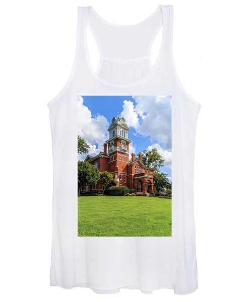 Gwinnett County Historic Courthouse Women's Tank Top